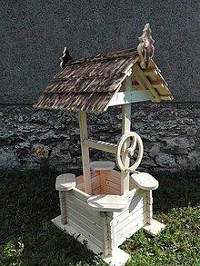 Dekorácie - záhradná studňa - 6737059_