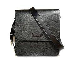 Tašky - Pánska taška so záklopkou - (čierna)  - 6740290_