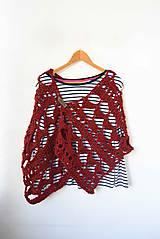 Iné oblečenie - _Lorelei... Tehlová... Alpaka & Vlna - 6740454_