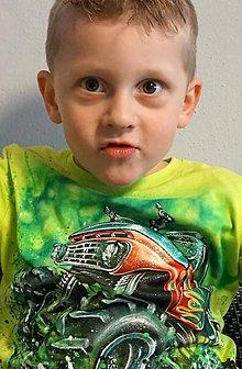 Detské oblečenie - monster truck - 6740737_