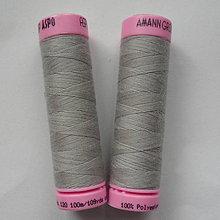 Galantéria - Nite polyesterové ASPO 100m (8-strieborná) - 6738114_