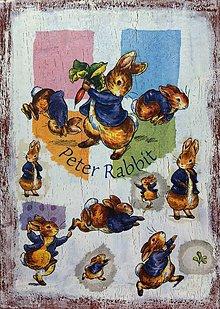 Obrázky - Veľkonočný zajko - Peter Rabbit - 6738553_
