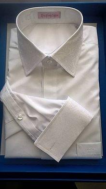 Oblečenie - Duca - svadobná košeľa - 6739639_