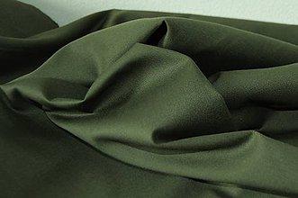 Textil - Bavlnená tkanina zelená - 6740432_