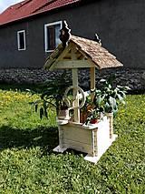 Dekorácie - záhradná studňa - 6740308_