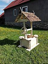 Dekorácie - záhradná studňa - 6740311_