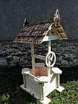 Dekorácie - záhradná studňa - 6740312_