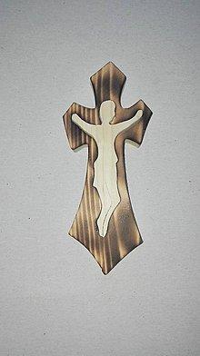 Dekorácie - Krížik Ježiš - 6738197_