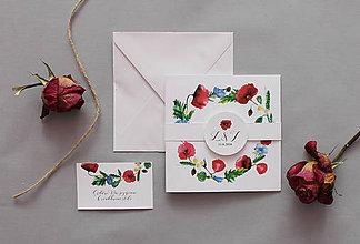 Papiernictvo - Svadobné oznámenie Maky - 6744482_