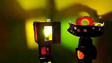 Svietidlá a sviečky - Tall lamp no 3. - 6743986_