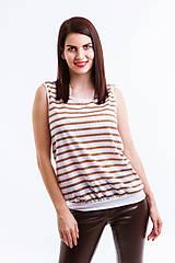 Tričká - Tričko hnedé - 6744727_