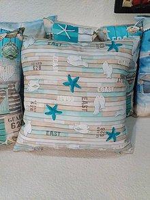 Úžitkový textil - Vankúšik more č.2 - 6744968_