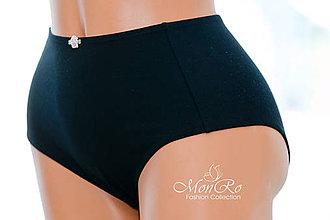 Bielizeň/Plavky - Dámske nohavičky klasické extra vysoký pás - 6742146_