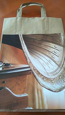 Iné tašky - recy darčeková taška s gramofónom - 6742169_