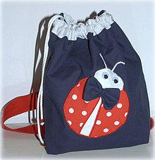 Detské tašky - Ruksak,batôžtek lienka - 6744201_