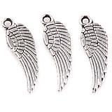 - 10ks strieborných krídel - 6742160_