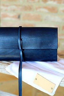 Kabelky - Listová kabelka MINI ROYAL BLUE - 6743455_