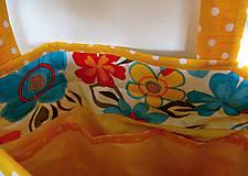 Veľké tašky - Taška- kvetiny - 6745010_