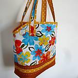 Veľké tašky - Taška- kvetiny - 6745011_