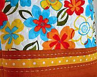 Veľké tašky - Taška- kvetiny - 6745012_