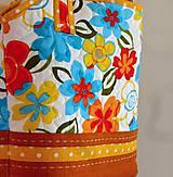 Veľké tašky - Taška- kvetiny - 6745013_