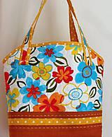 Veľké tašky - Taška- kvetiny - 6745014_