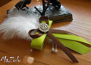 Pierka - svadobné pierko - 6746637_