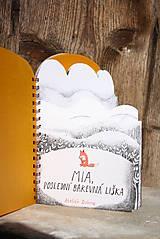 Knihy - Mia, poslední barevná liška - 6746421_