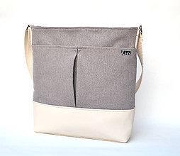 Veľké tašky - Taška CREAM - 6747232_