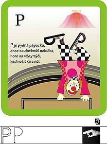 Hračky - ako vyzerajú písmenká - 6745643_