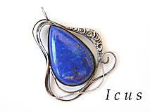 - Prívesok Lapis Lazuli - Nevertris - 6746059_