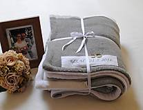 Úžitkový textil - Svadobná deka - 6745896_