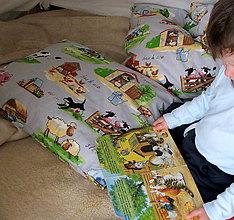 Úžitkový textil - Zvieratká na vankúši - 6752181_