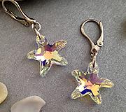 Náušnice - náušnice Morské hviezdice  - 6752357_