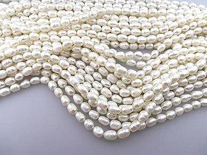 Minerály - perly riečne 8mm - 6750505_