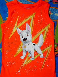 Detské oblečenie - maľované tričko - 6752362_