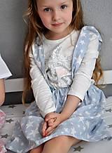 Detské oblečenie - suknička s trakmi, veľkosť 116 - 6751212_