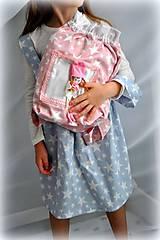 Detské oblečenie - suknička s trakmi, veľkosť 116 - 6751213_