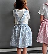Detské oblečenie - suknička s trakmi, veľkosť 116 - 6751214_