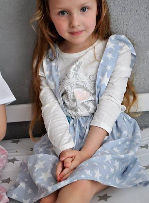 suknička s trakmi, veľkosť 116