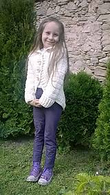 Detské oblečenie - Kruhový svetrík - 6749709_