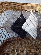 Úžitkový textil - Chňapka-sada 3 farieb - 6753315_
