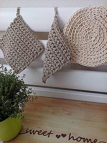 Úžitkový textil - Chňapka alebo podložka - 6750597_