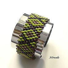 Náramky - Korálkový náramok Matilda - 6754677_