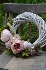 - Veniec s vintage ružami - 6755208_