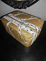 Krabičky - Breza v zlate - 6753655_