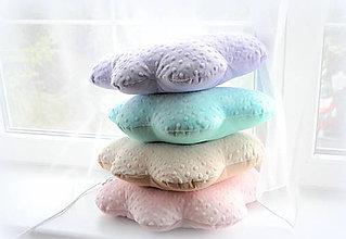 Textil - Jednoduché Minky vankúše Mráčiky bez tváričky a nožičiek - 6761020_