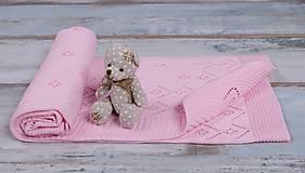 """Textil - Letná Detská Deka, """"Classic Royal"""", OEKO-TEX® - Ružová - 6759192_"""