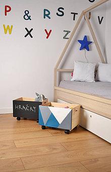 Nábytok - Úložný box (nielen) na hračky - 6759947_