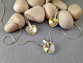 Sady šperkov - Swarovski Srdiečka - 6759768_